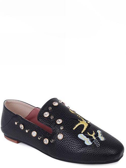 Bailarinas mocasines mocasines mocasines zapatos de mujer suela negro diseños como piel cómodo 8683  precios bajos