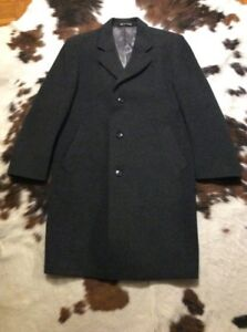 John Ecosse Moyenne Reg Lewis Homme Gris Aberdeen Pure Manteau Laine pour Crombie 7Wx5HTwvqT