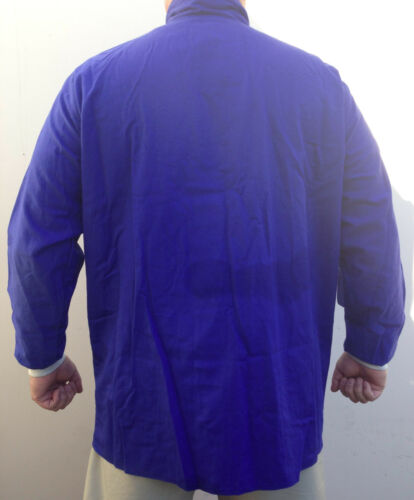 """Stanco Temp Test 35"""" Coat 8.6 Cal CM² Arc Flash Protection Ultra Soft  NEW Med"""