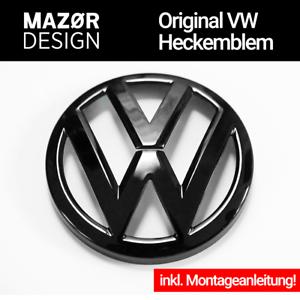 VW Tiguan 2 AD1 Heck Emblem Schwarz Black Hinten Zeichen Logo R ...
