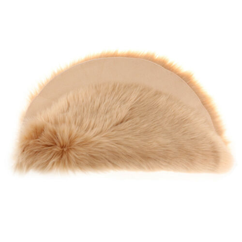 Langflor Shaggy Teppich Künstlich Schaffell-Teppich Flauschig Bereich