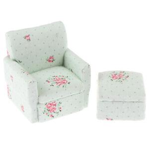 2x-set-1-12-Dollhouse-Miniature-Wood-Sofa-Model-Doll-House-Toy-Accessories-YK