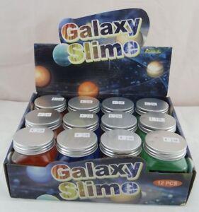 JOHNTOY-Slime-Schleim-Slimey-Glaxy-Slime-Glubber-4-Farben-Neu