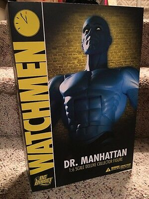 DC Direct 1/6 13 inch DR MANHATTAN Watchmen Collectible Action Figure NEW MIB