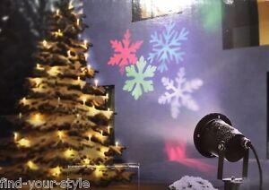 led strahler bewegte schneeflocken projektor weihnachten. Black Bedroom Furniture Sets. Home Design Ideas