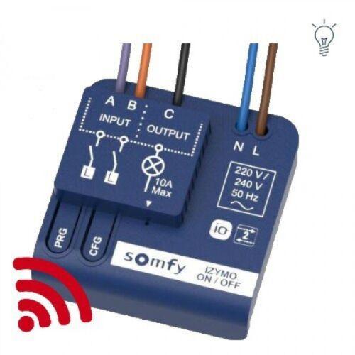 Somfy 1822649 UP-Empfänger Licht AN//AUS io