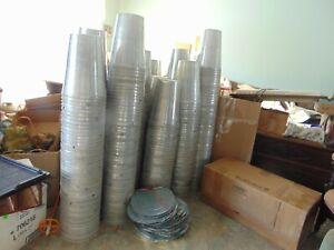 Taps Spouts Spiles Set of 5 MAPLE SYRUP Aluminium Sap BUCKETS Lids Covers
