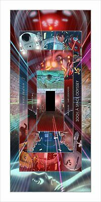 2001 A Space Odyssey by Neil Davies 2019 NYCC Mondo 28//150