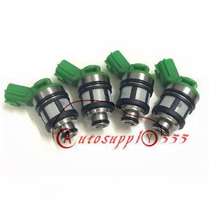New 4x Fuel Injectors 16600-1S700 For NISSAN Frontier Xterra 2.4L KA24DE 96-04