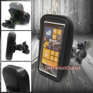 Water-Resistant-Bicycle-Mount-Holder-Case-for-Blackberry-Huawei-Motorola-Nokia