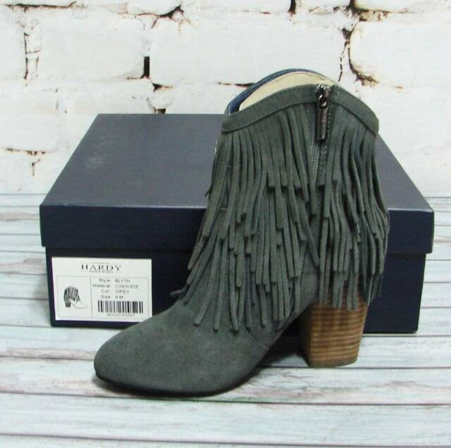 Hardy Design Works Women/'s Witney Black Leather Boots
