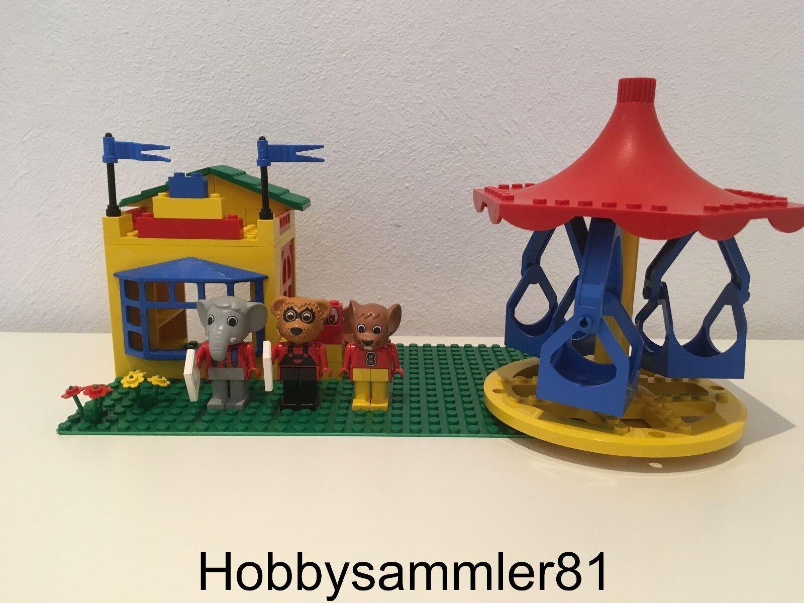 Lego® 3668 Fabuland Merry-Go-Round - Karussell mit mit mit Kassenhäuschen f9fd1c