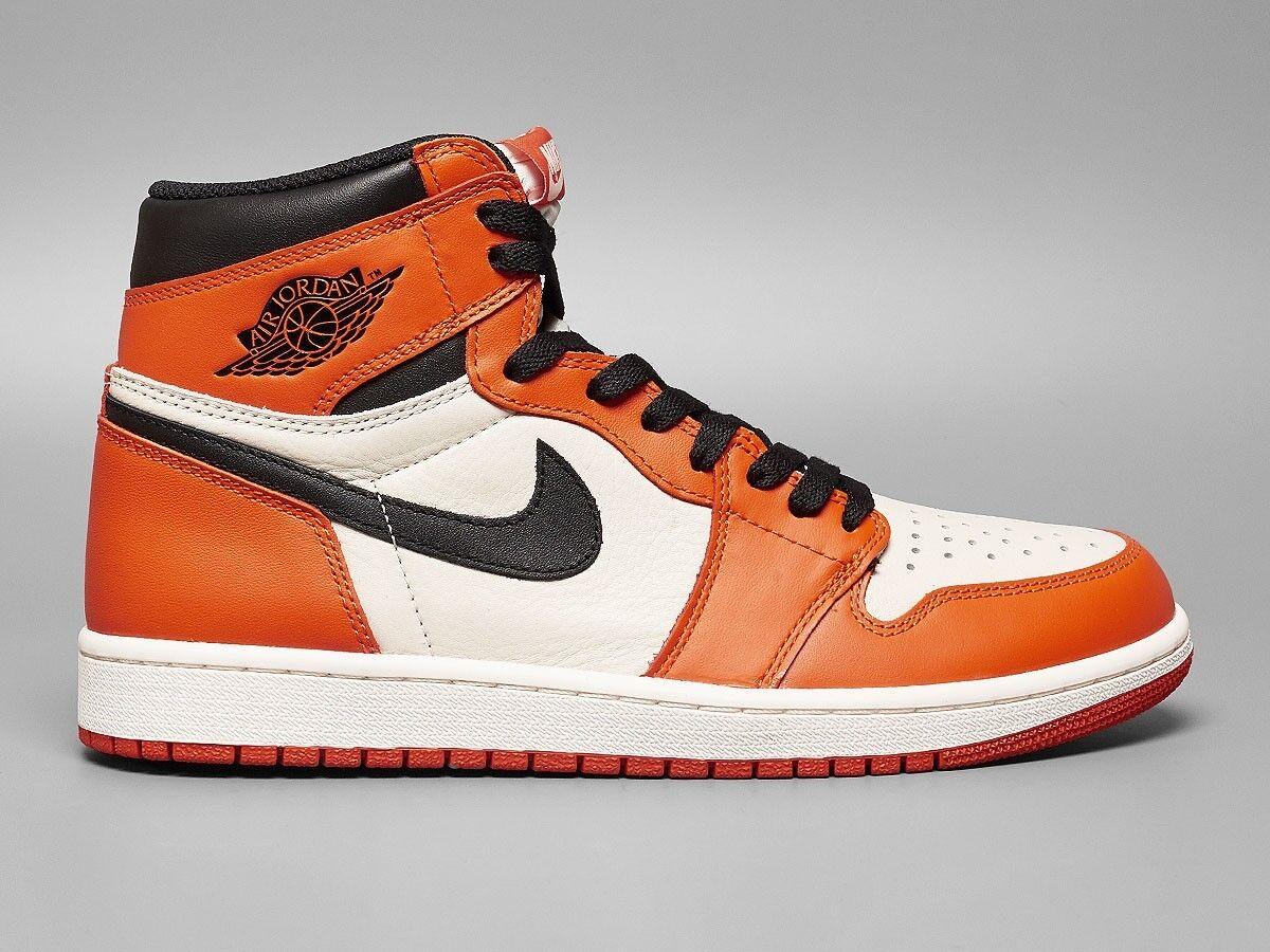 Nike Air Jordan 1 Retro High OG Reverse Shattered Backboard Size 13. 555088-113