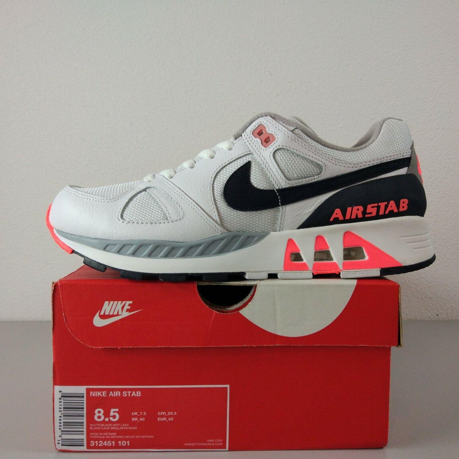 35d13036fe Nike Air Stab Hot Lava US 8.5 UK 7.5 BNIB Max Span Base OG 180 1 90 ...