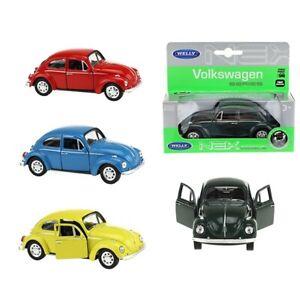 Coche-modelo-escarabajo-Beetle-aleatoria-color-auto-1-34-39-con-licencia-oficial