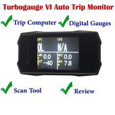 QUICKLYNKS TG6 TurboGauge VI Auto Trip Monitor OBD2 Diagnostic Tool Free Ship