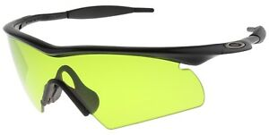 9263b392372 Oakley SI M-Frame Hybrid Sunglasses 11-096 Black Frame with Laser ...