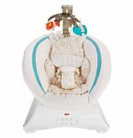 Fisher Price Soothing Savanna Deluxe Bouncer For Sleeping/entertaining   Clh37