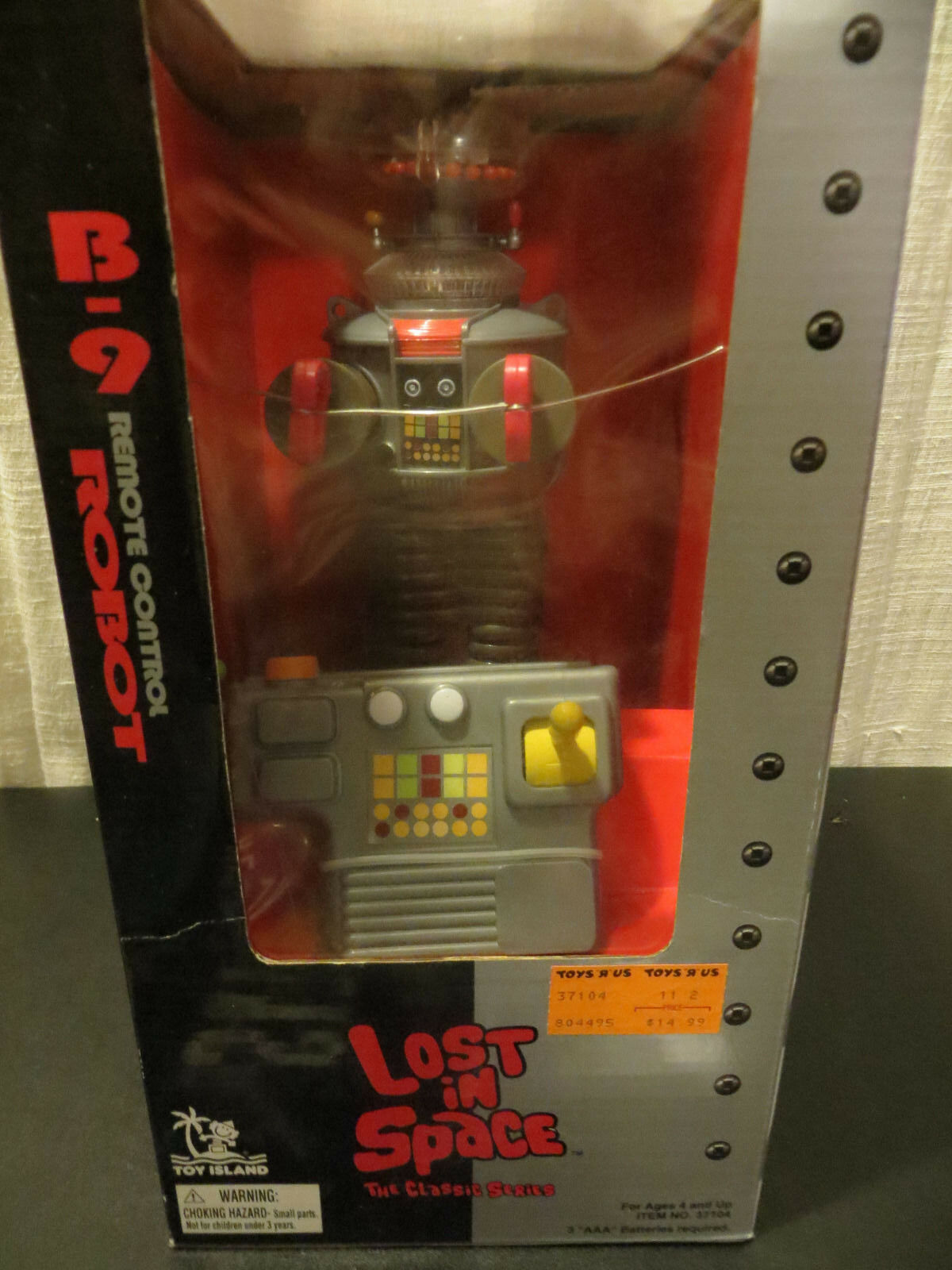 Toy Island Lost in Space Classic Series B-9 Remote Control Robot