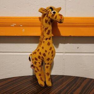 "Herman Pecker & Company Giraffe Plush Toy Approximately 9"" VTG Japan Saw Dust"