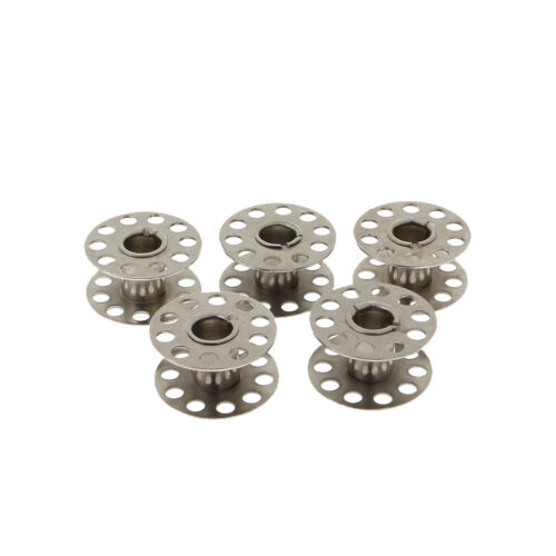 Sewing Machine Bobbin Case and 5pcs Bobbins for Singer Janome Brother
