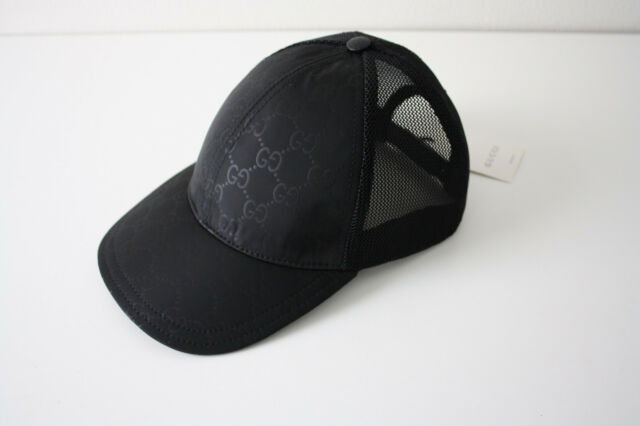 Buy Gucci 510950 Cap With Monogram Baseball Cap Black Size XL online ... a4c7abf704b