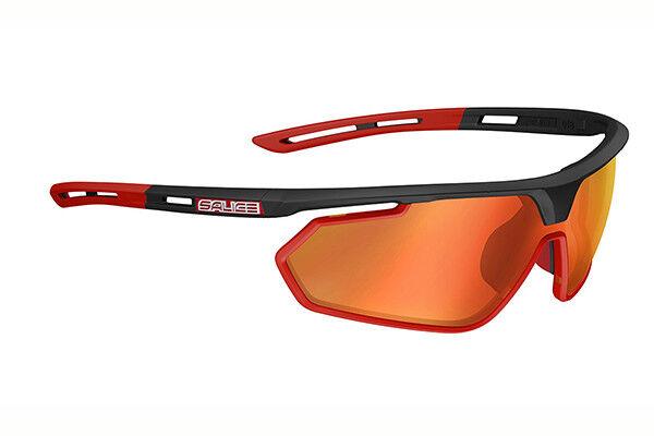 Gafas SALICE 018 RW Negro-Rojo Lentes rojo GLASSES salice 018RW negro-rojo LEN