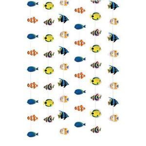 Arrecife-de-coral-Peces-Tropicales-Colgante-Decoraciones-bajo-el-mar-fiesta-de-cumpleanos