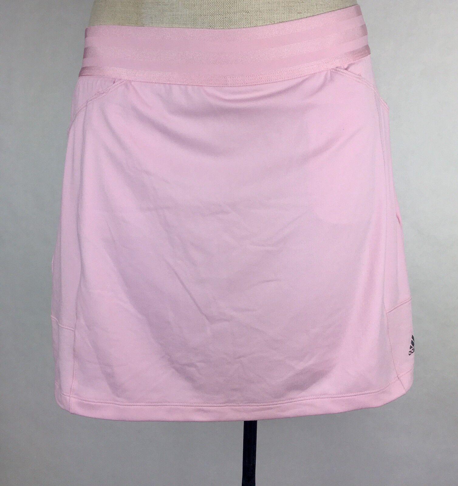 Damen Adidas Climacool Golf Skort Rock in Stretch-Shorts Größe S