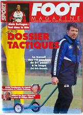 Foot Magazine du 10/01/1996; Dossier Tactiques/ Alain Bettagne/ M. Vandereycken