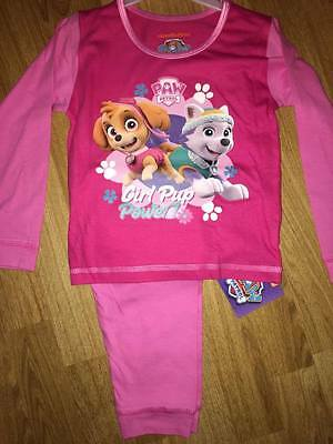 Bnwt Girls Snuggle Fit Paw Patrol Girl Pup Power Cotton Pyjamas Age 18-24 Months Clothing, Shoes & Accessories