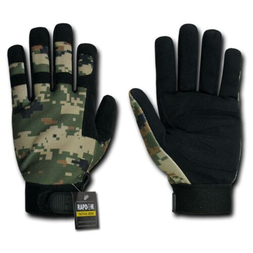 Rapid Dom Gloves Digital Camo Camouflage Army Outdoor Tactical Hunting