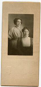 Antique Photo - Highland Park, Illinois - 2 Ladies (Mother & Daughter ?)