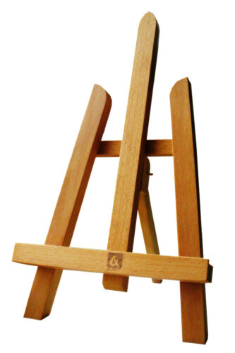 BEECH WOOD 270MM ARTIST TABLE TOP DISPLAY ART EASEL CRAFT WOODEN WEDDING ART