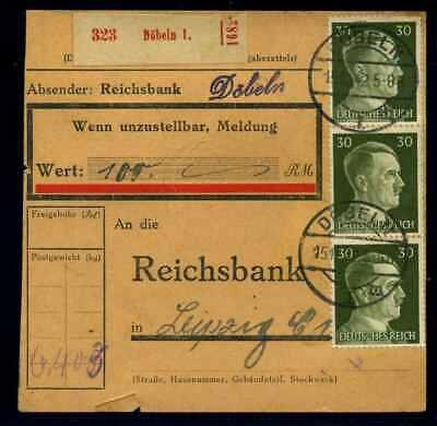 Rabatte Verkauf Paketkarte 1942 Doebeln Siehe Beschreibung 114641
