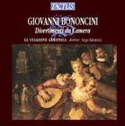 Giovanni Bononcini Divertimenti Da Camera 8007194101515 by Balestracci CD