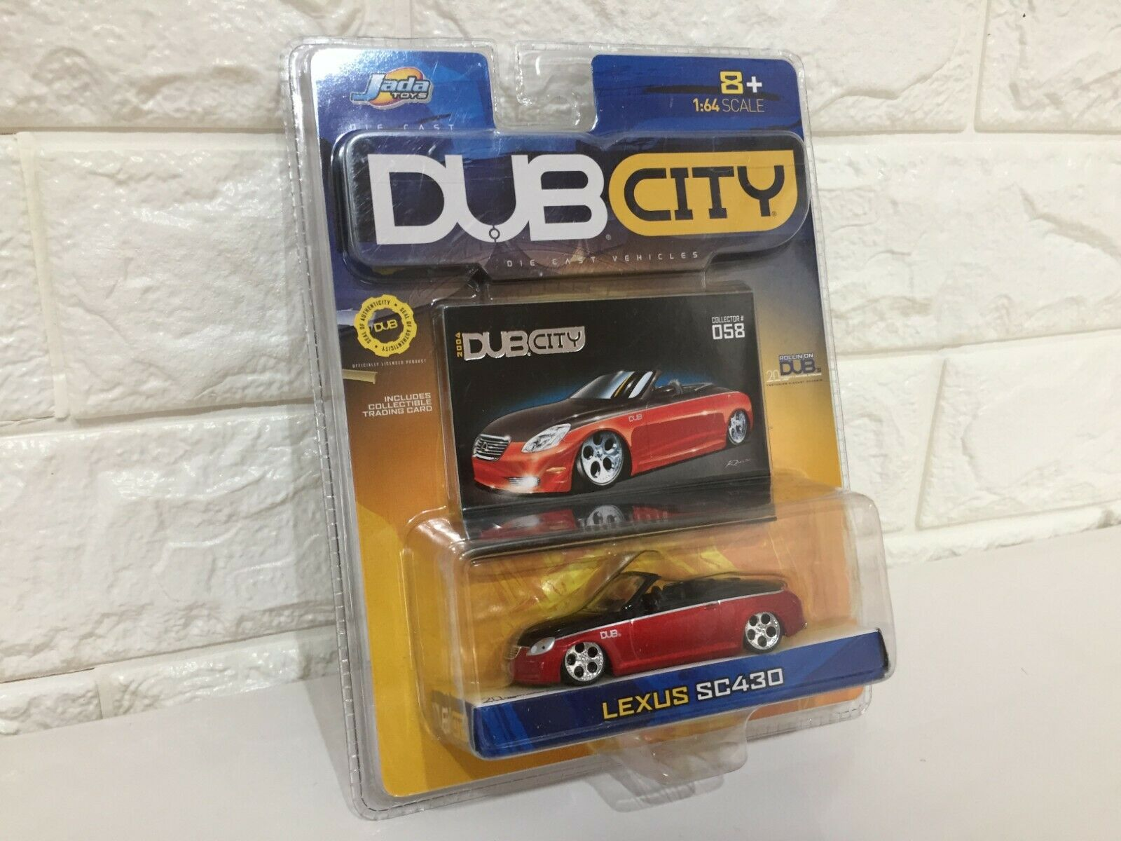 Very RARE NEW Jada Toys DUB CITY LEXUS SC430 from Japan F S 1 64