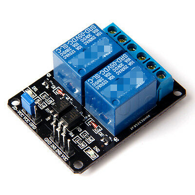 1x 2-Channel 2Way 5V Relay Module For Arduino PIC ARM DSP AVR SRD-05VDC-SL-C WT