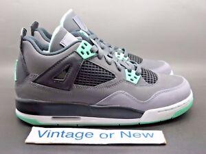 0e5e954b93c Details about Nike Air Jordan IV 4 Green Glow Retro GS 2013 sz 6Y