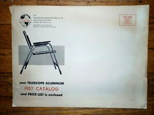 Remarkable Details About 1957 Telescope Aluminum Chair Catalog Envelope Pdpeps Interior Chair Design Pdpepsorg
