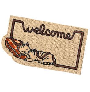 Zerbino-rettangolare-gatto-antiscivolo-assorbente-40x70-tappeto-esterno-welcome