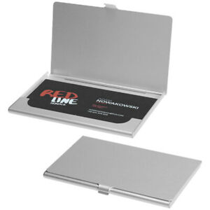sports shoes 74285 04799 Details about BUSINESS CARD HOLDER METAL ALUMINIUM DEBIT CARD DISPLAY CASE  POCKET WALLET GIFT