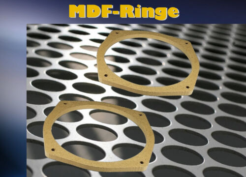MDF Adaptateur Anneaux Pour MITSUBISHI PAJERO PININ 2014 /> Front Pour 165 mm Haut-parleurs