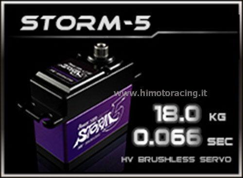 BRUSHLESS INGERGAGGI I TITANIO HJÄLP- 5 SERVO DIGITALE 18.0 kg