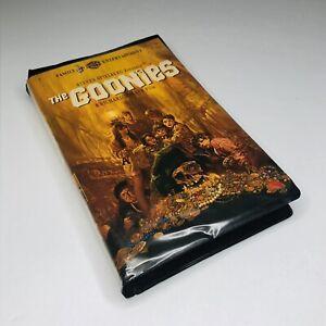 The Goonies Vhs 1985 Rare Black Clamshell Vids 85391327530 Ebay