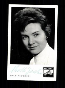 Ruth-Fischer-Autogrammkarte-Original-Signiert-BC-126795