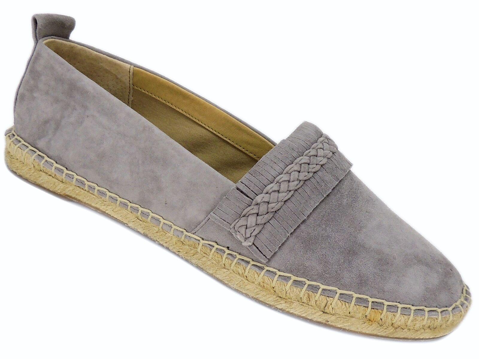 Splendid Women's Jaime Slip-On Espadrille Grey Suede 10 M