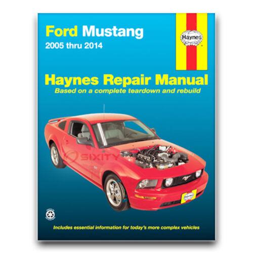 Shop Service Garage Book pf Haynes Repair Manual for 2005-2014 Ford Mustang