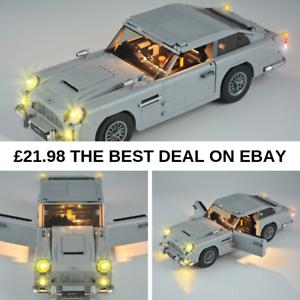 LED Light Kit For Lego 10262 Aston Martin DB5 James Bond Lighting Bricks Toys