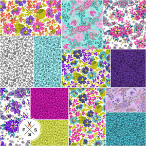 Clothworks-Cassandra-5-034-Fabric-Charm-Pack-Quilting-Squares-SQ70